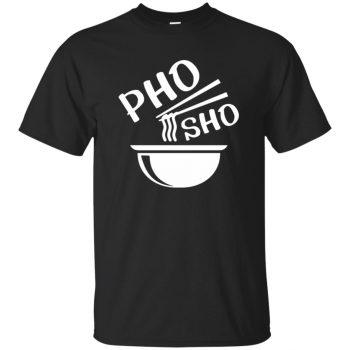 pho sho t shirt - black