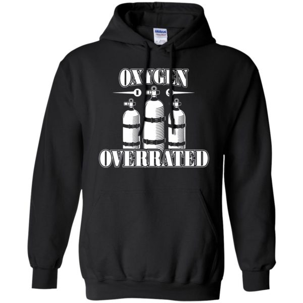 Oxygen is Overrated hoodie - black