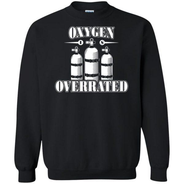 Oxygen is Overrated sweatshirt - black
