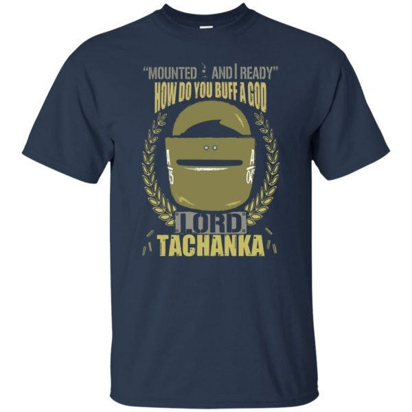 lord tachanka shirt t shirt - navy blue