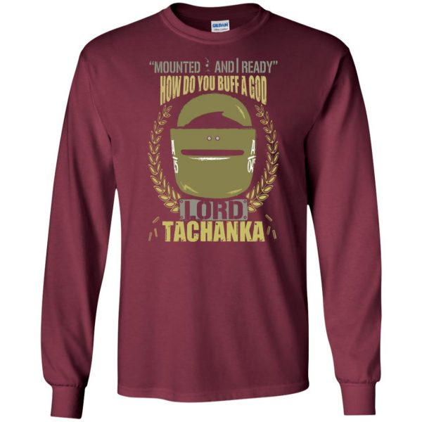 lord tachanka shirt long sleeve - maroon