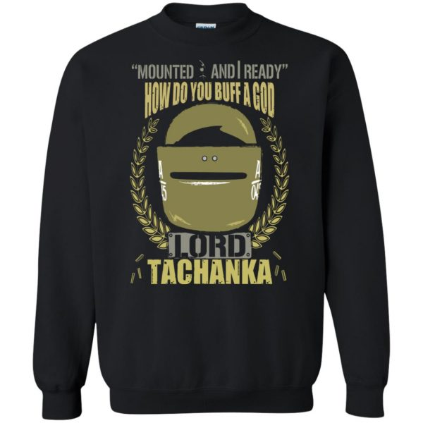 lord tachanka shirt sweatshirt - black