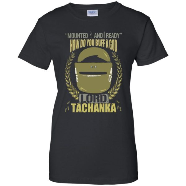 lord tachanka shirt womens t shirt - lady t shirt - black