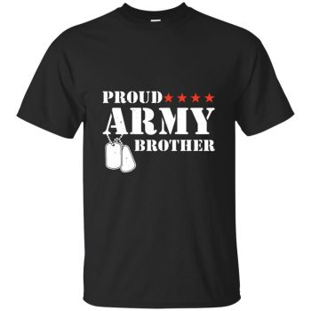 army brother shirt - black