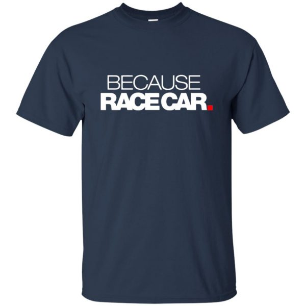 because race car t shirt - navy blue