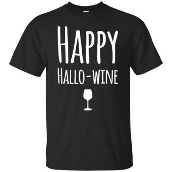 hallowine shirt - black