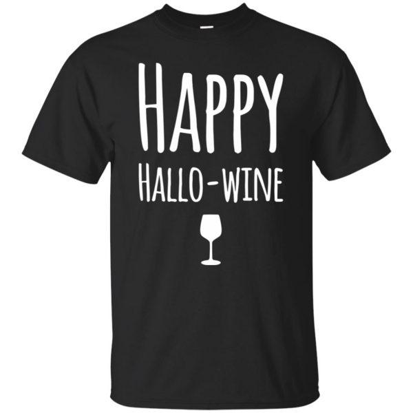 hallowine shirt - black