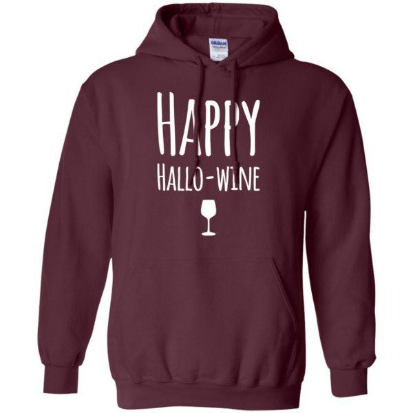 hallowine hoodie - maroon