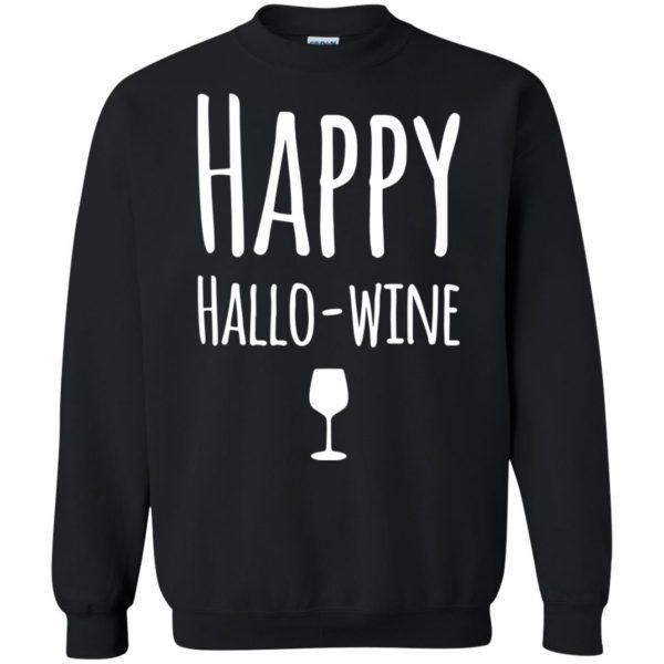 hallowine sweatshirt - black