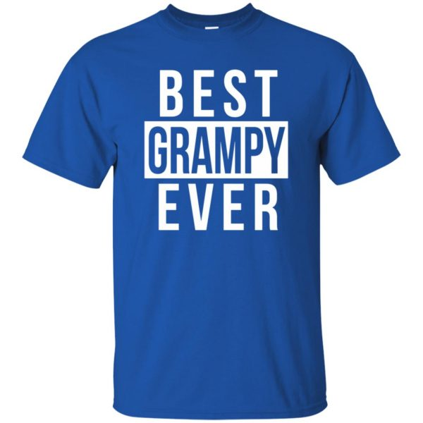 grampy t shirt - royal blue