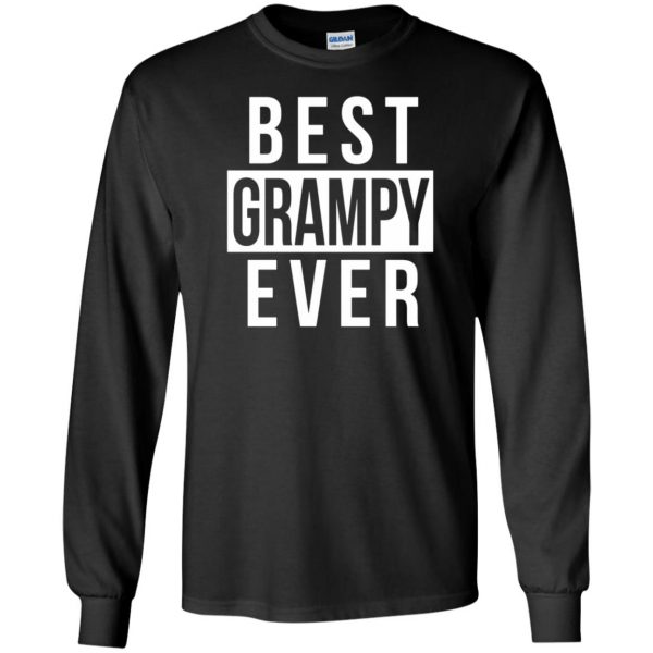grampy long sleeve - black
