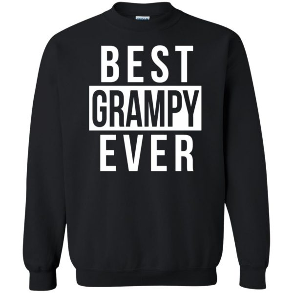 grampy sweatshirt - black