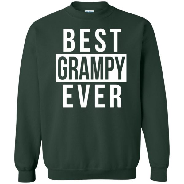 grampy sweatshirt - forest green