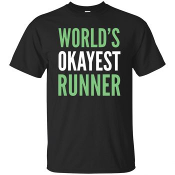 World's Okayest Runner - black