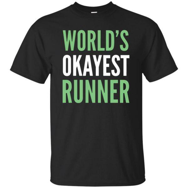 World's Okayest Runner - black