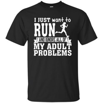 I Just Want To Run - black