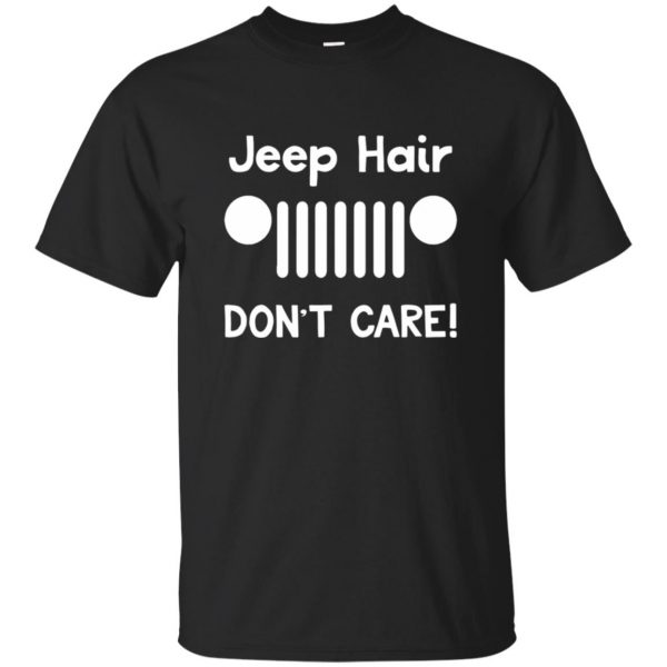 jeep hair shirt - black