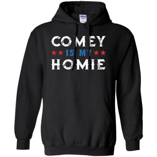 comey is my homey hoodie - black