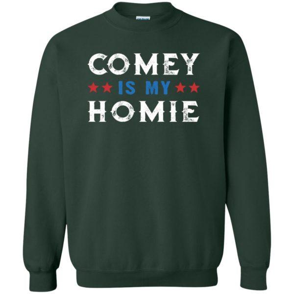 comey is my homey sweatshirt - forest green