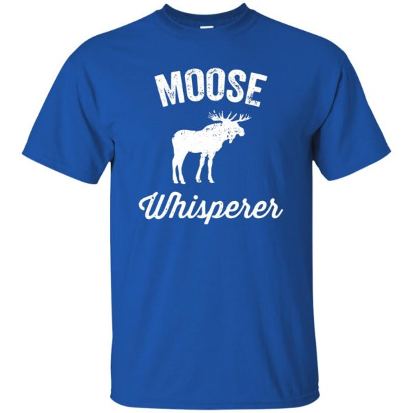 got moose t shirt t shirt - royal blue