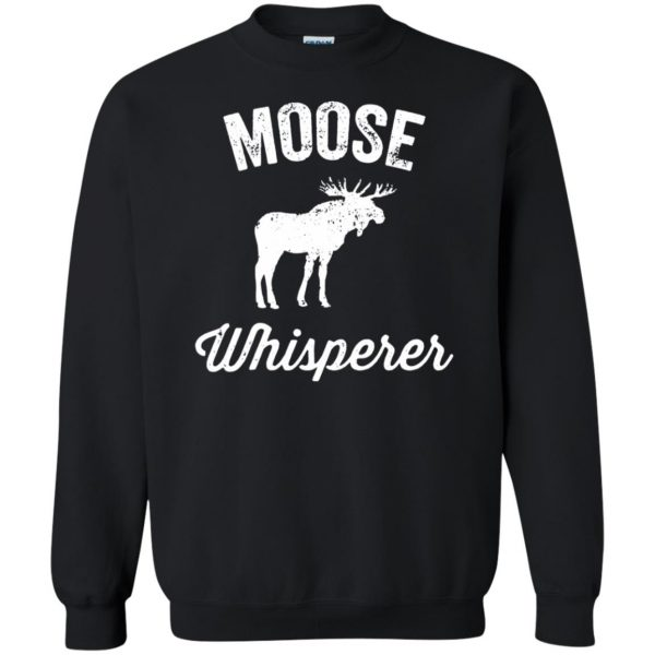 got moose t shirt sweatshirt - black