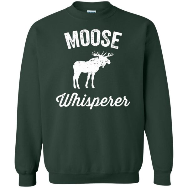 got moose t shirt sweatshirt - forest green