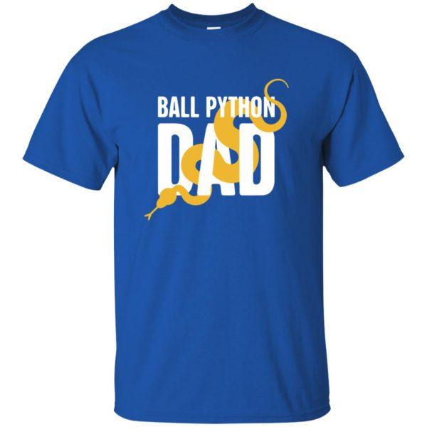 ball python t shirts t shirt - royal blue