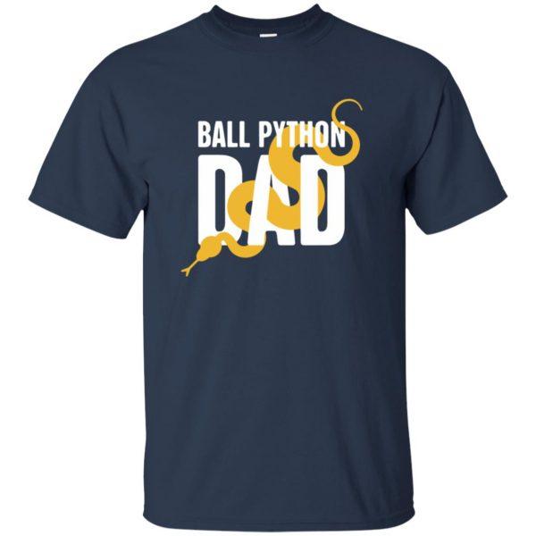 ball python t shirts t shirt - navy blue