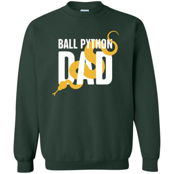 ball python t shirts sweatshirt - forest green