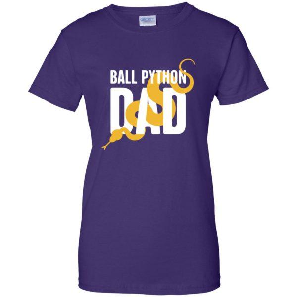 ball python t shirts womens t shirt - lady t shirt - purple