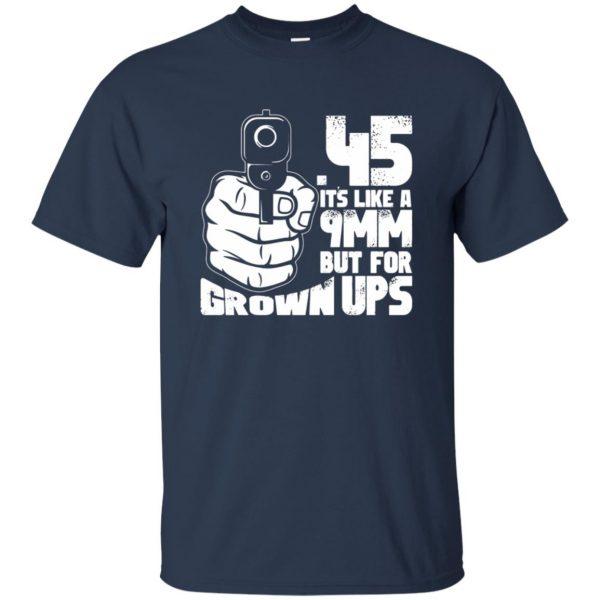 45 acp t shirt - navy blue