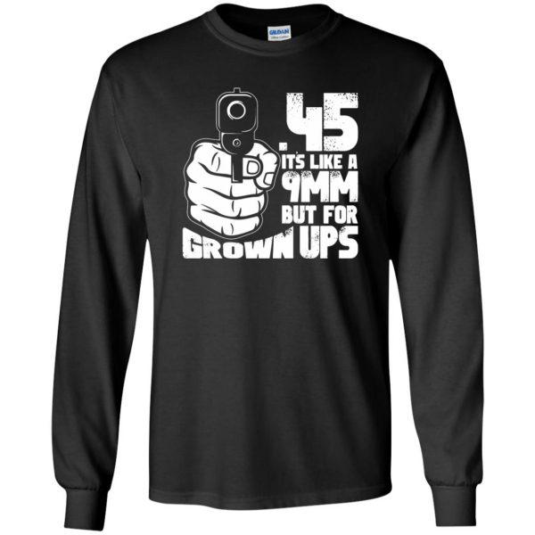 45 acp long sleeve - black