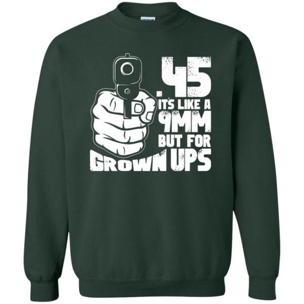 45 acp sweatshirt - forest green