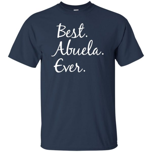 abuela shirt t shirt - navy blue