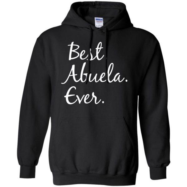 abuela hoodie - black