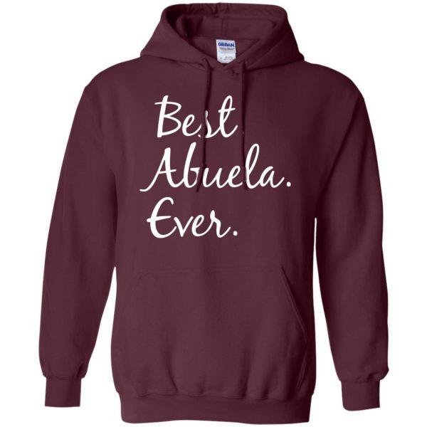 abuela hoodie - maroon