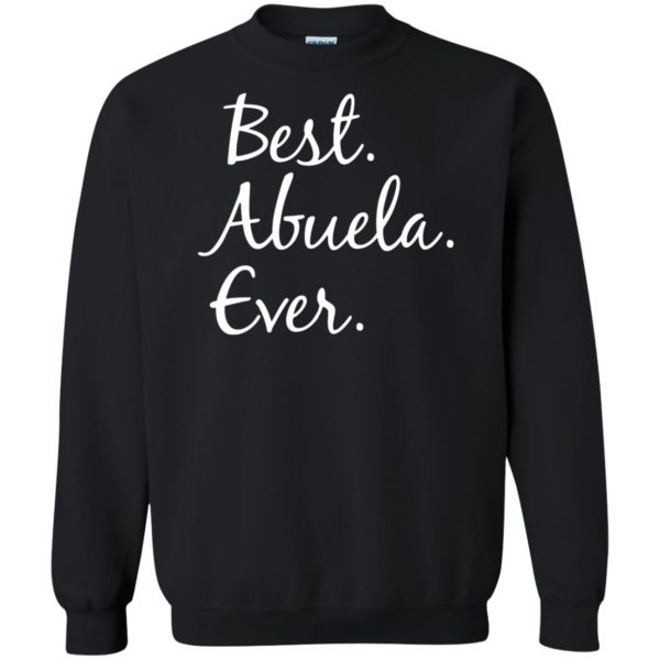 abuela shirt sweatshirt - black