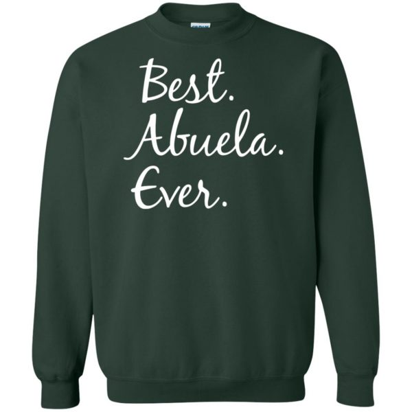 abuela shirt sweatshirt - forest green