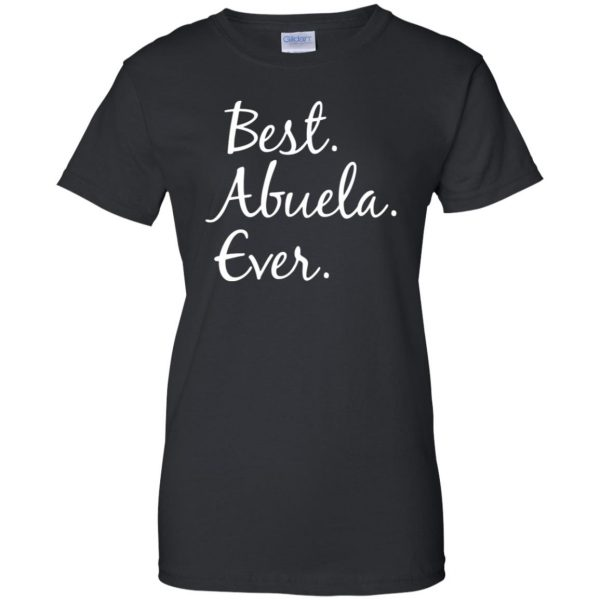abuela shirt womens t shirt - lady t shirt - black