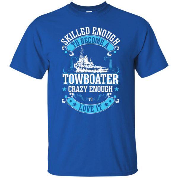 towboater t shirts t shirt - royal blue