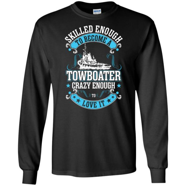 towboater long sleeve - black