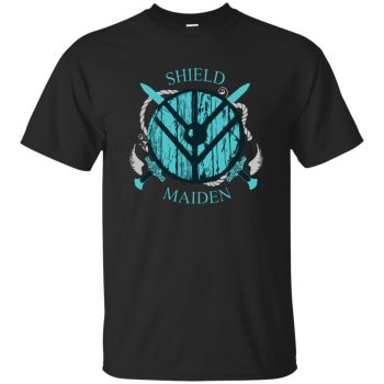 shieldmaiden shirt - black