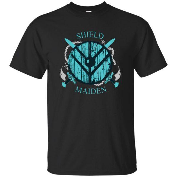 shieldmaiden shirt - black