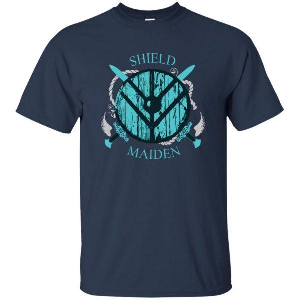 shieldmaiden shirt t shirt - navy blue