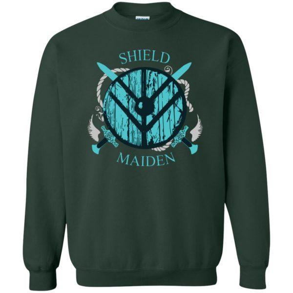 shieldmaiden shirt sweatshirt - forest green