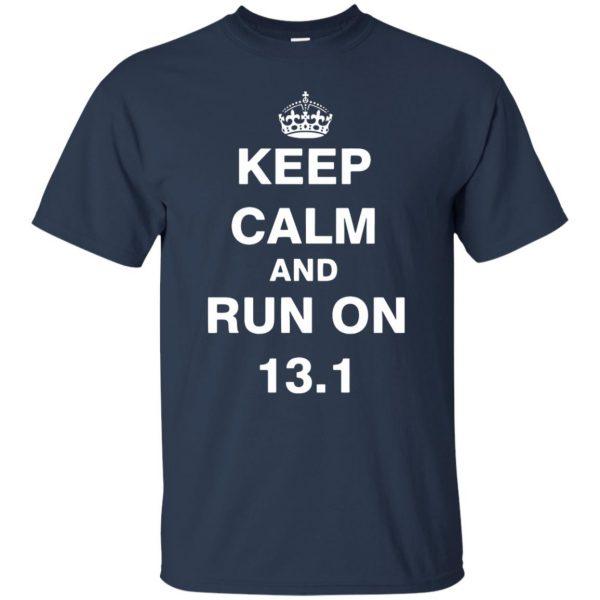13.1 Half Marathon t shirt - navy blue