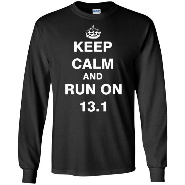 13.1 Half Marathon long sleeve - black