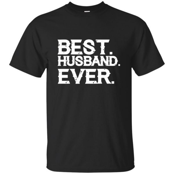 best husband ever - black