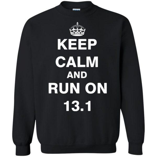 13.1 Half Marathon sweatshirt - black