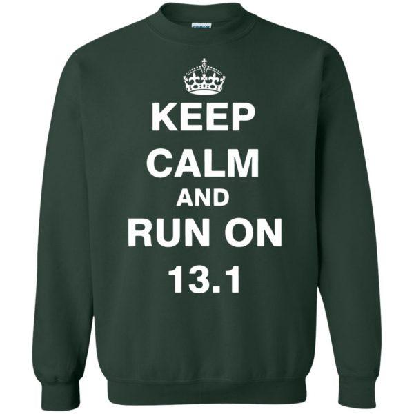 13.1 Half Marathon sweatshirt - forest green